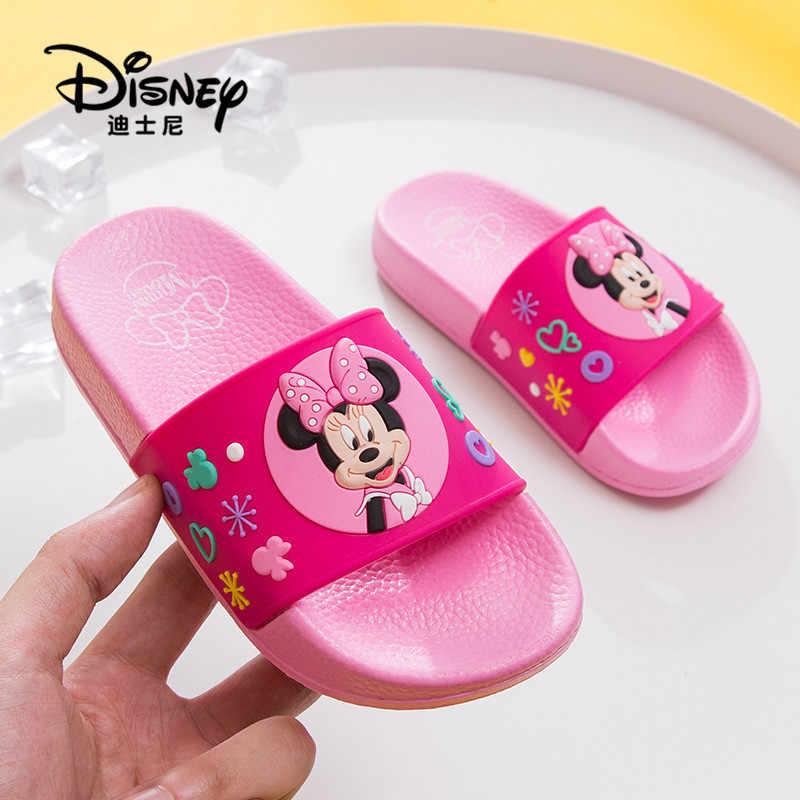 800b0b570 Disney обувь детские тапочки детские домашние Вьетнамки детская  водонепроницаемая обувь детские домашние тапочки для маленьких девочек