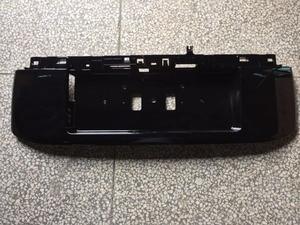 Image 3 - OE cubierta de placa de marco de matrícula trasero, ABS, con pintura para Toyota Land Cruiser Prado LC150, accesorios 2018 2019