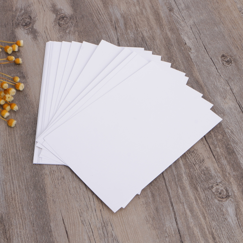 100 Sheets A6 High Gloss Glossy Photo Paper Water-resistant Quick Dry
