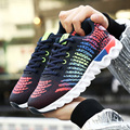 ADAcolorDay Unisex Top Quality Breathable Air Mesh Women Shoes Men Spring Brand Men Causal Shoes Women Mixed Colors Men Trainers