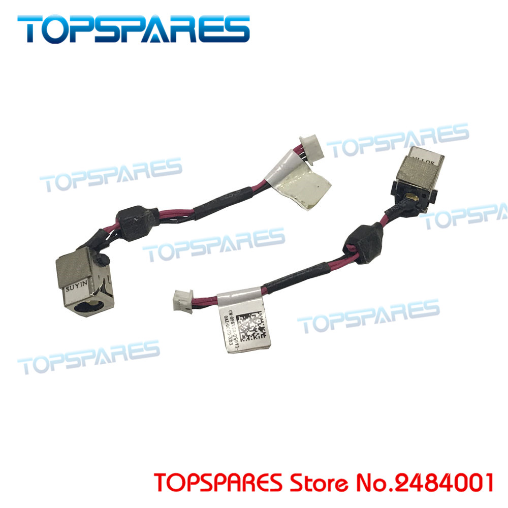 Free shipping DC power Jack Connector IN Cable for Dell Mini Duo 1090 F6X5R CN-0F6X5R storage cable