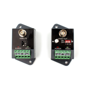 Image 3 - 2 stks (1 paar) lange afstand 1 channel Actieve Video Balun Video Transceiver voor CCTV AHD CVI TVI CVBS Single Channel Zender