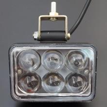 12 V-80 V Автомобильные светодиодные противотуманные светильник лампа Spot дальнего света головной светильник 4x4 внедорожный ATV UTV фара для грузовика фары светодиодный рабочий светильник
