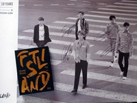 Signed FTISLAND FT Autographed Album 10 Anniversary Over 10 Years CD Photobook Signed Poster 072017