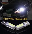 2 pcs Canbus T10 W5W Plasma LED Lado Marcador Lâmpadas Luz de Estacionamento Lâmpada Para Ford Focus Fusão Festiva Festiva Ranger Taurus
