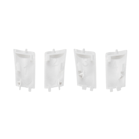 1Set 4Pcs Landing Gear Cover Case Repair PartsBody Shell Repair Spare Parts For DJI For Phantom 4 Pro/Adv Drone New Arrival Lahore