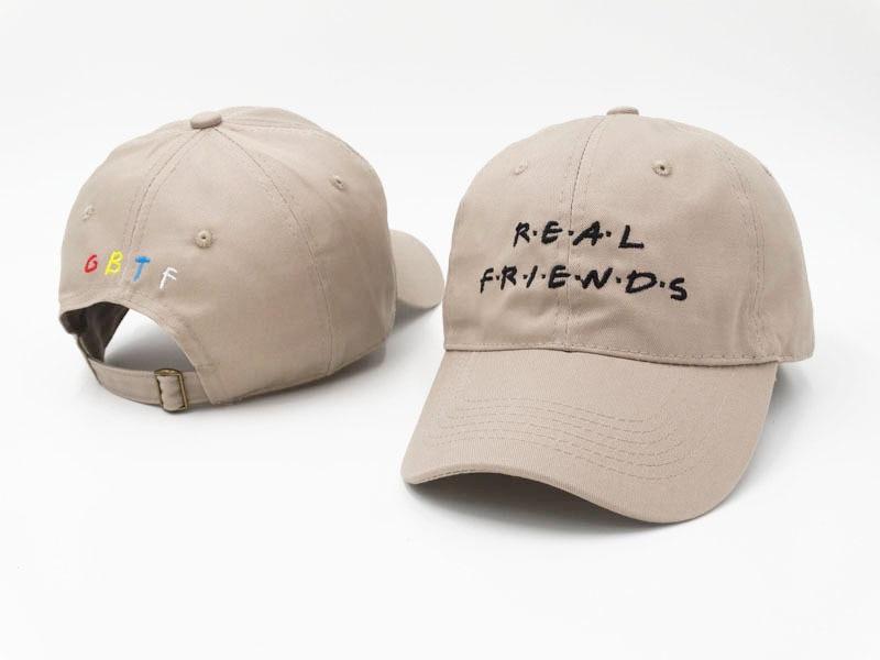 Yang di kamar mandi bordir teman nyata denim topi unisex topi ayah - Aksesori pakaian - Foto 2
