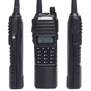 Image 5 - BaoFeng Walkie Talkie UV 82 5w bateria 3800mah 10 cinco quilômetros Nos Dois sentidos cb ham rádio portátil poderoso handheld Dual PTT uv82 Rádio caça