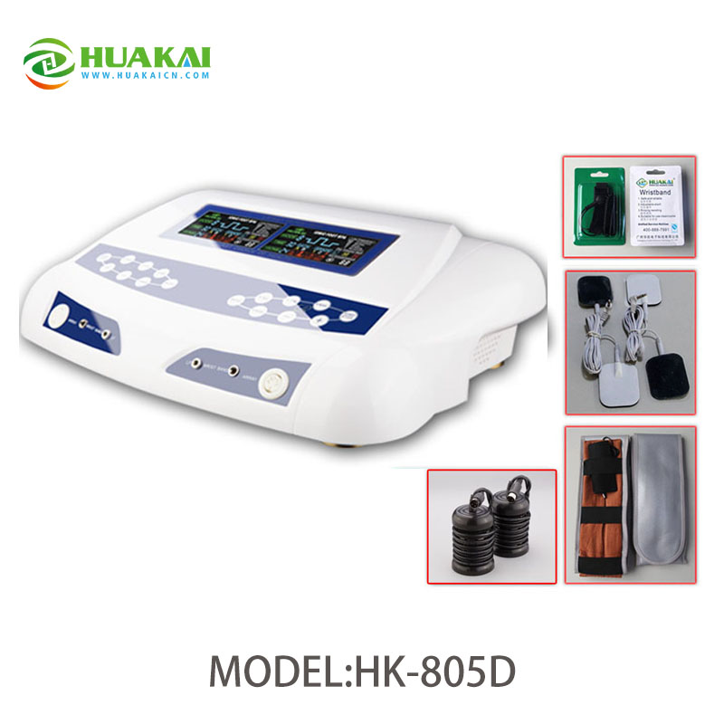 Detox Foot Massage Ion Cleanse Machine with Far Infrared Waistbelts for 2 Persons Use 2014 new free shipping dual display hk 809 with waistbelts machine for pedicure