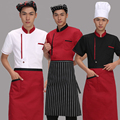 Hotel Chef Uniform Wear Short Sleeved Hotel Chef Uniform Summer Restaurant Chef Kitchen Wear Summer Clothing