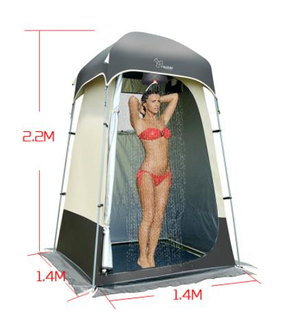 Vidalido High Quality Outdoor Strong Shower Tent/toilet/Dressing Changing Room Tent/Outdoor Movable WC Fishing Sunshade Tent