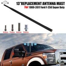 """13 """"gomma Tetto Dell'automobile FM Antenna Mast AM Radio Antenna Amplificatore Antenna per Ford F-F250 Super Duty 1999-2017 KOLEROADER/"""
