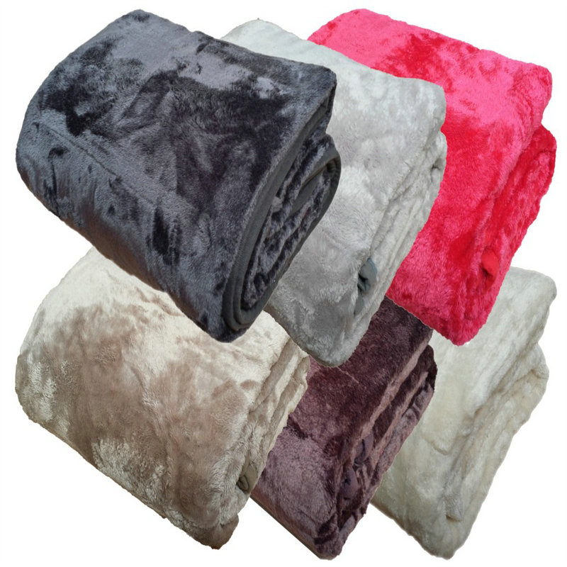 super soft sofa blanket faux fur bed blanket kintted throw blankets fleece blanket 150200cm