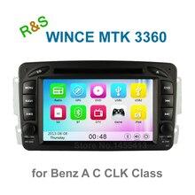 Car DVD Player Radio for Mercedes/Benz W210 W168 W203 Vaneo Viano Vito W170 C209 C208 W163 W463 with BT GPS support 3G Ipod