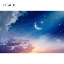 Laeacco Eid Mubarak Landscape Ramadan Festival Scene Portrait Photographic Background Seamless Photography Backdrop Photo Studio