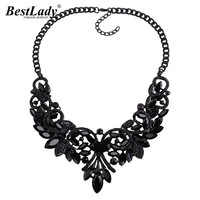 Ladyfirst New Color Gem Crystal Brand Maxi Statement Necklaces Pendants Vintage Turkish Wholesale ZaCollar Choker Necklace