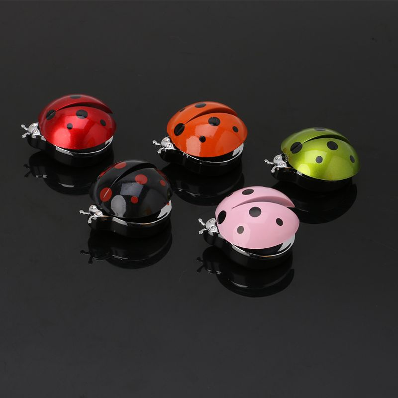 Car Ornament Abs Ladybug Decoration Perfume Clip Air Purifier Cute Automobiles Interior Fragrance Essential Oil Diffuser Gifts Mild And Mellow Air Freshener Interior Accessories