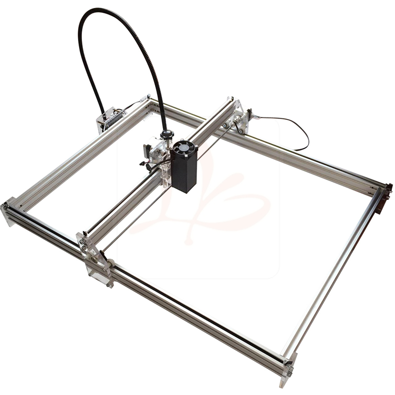 EUR free tax LY 5065 500mw Blue Violet Laser cutting Machine CNC router IC Marking Printer Carving Size 50*65cm eur free tax cnc 6040z frame of engraving and milling machine for diy cnc router