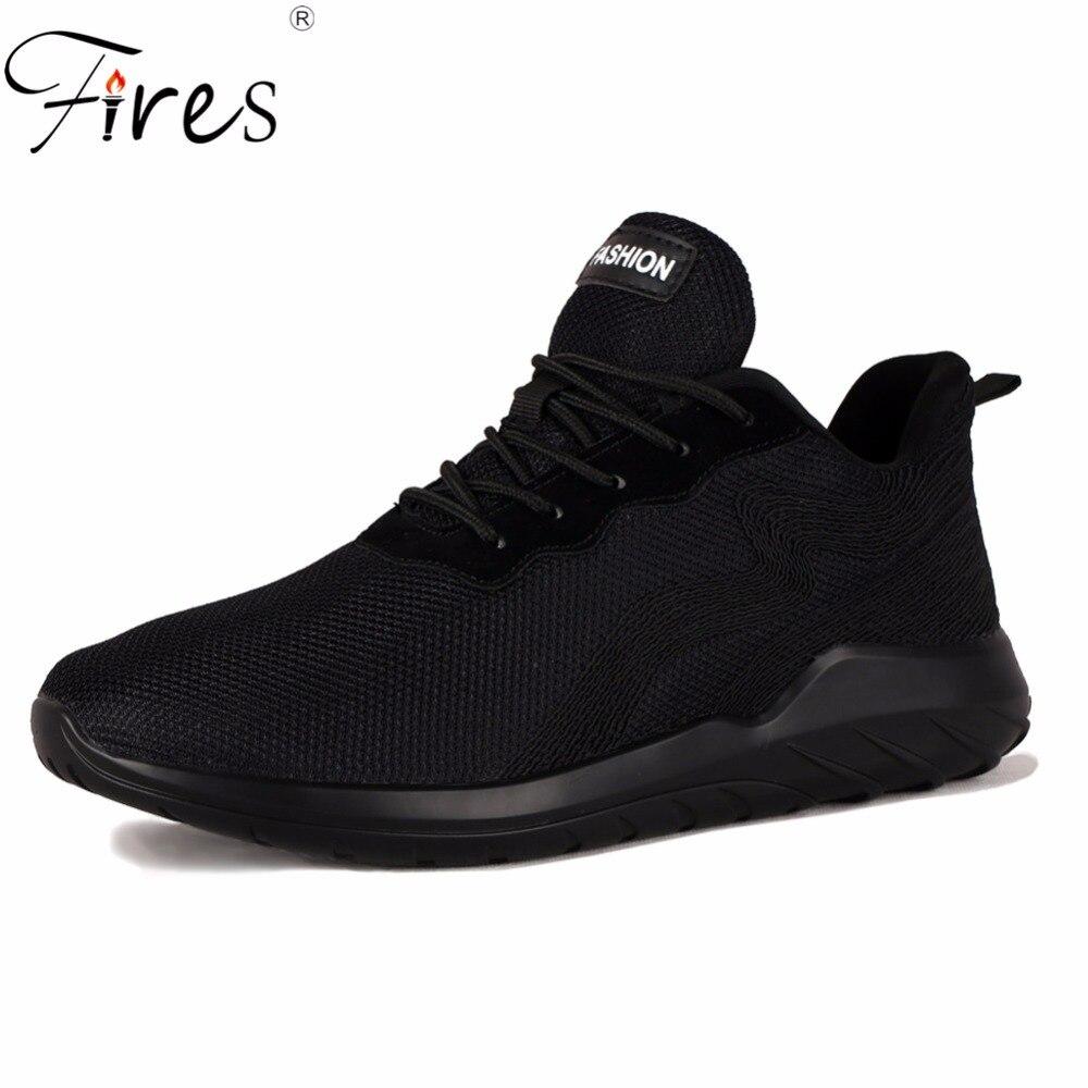 Hommes Sneakers Homme Chaussures de Course de Sport En Plein Air Athletic Shoe Respirant Confortable Chaussures de Marche D'été Maille Zapatillas Hombre