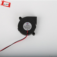 15pcs Lots Universal Printer Equippment Creality 3D Printer 5015 12 24V Ultra Quiet Turbo Small Fan