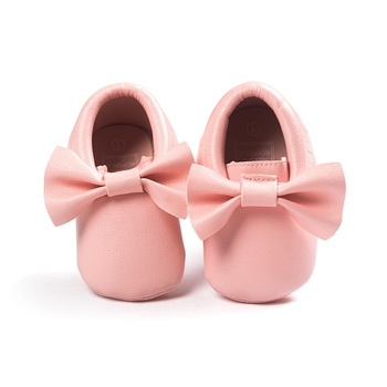 14 Colors Baby Girls Princess Shoes Fringe Soft Moccasin Infant Toddler Girl Leather Crib Shoes 0-18M 1