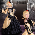 Vocaloid Rin And Len Servant Of Evil Fanart Cosplay Costume Anime clothes Free Shipping