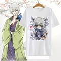 Kiss Kamisama Hajimemashita Love T shirt Anime tomoe Cosplay Costume Cute T-shirt Cotton Short Sleeve Tees For Women Men