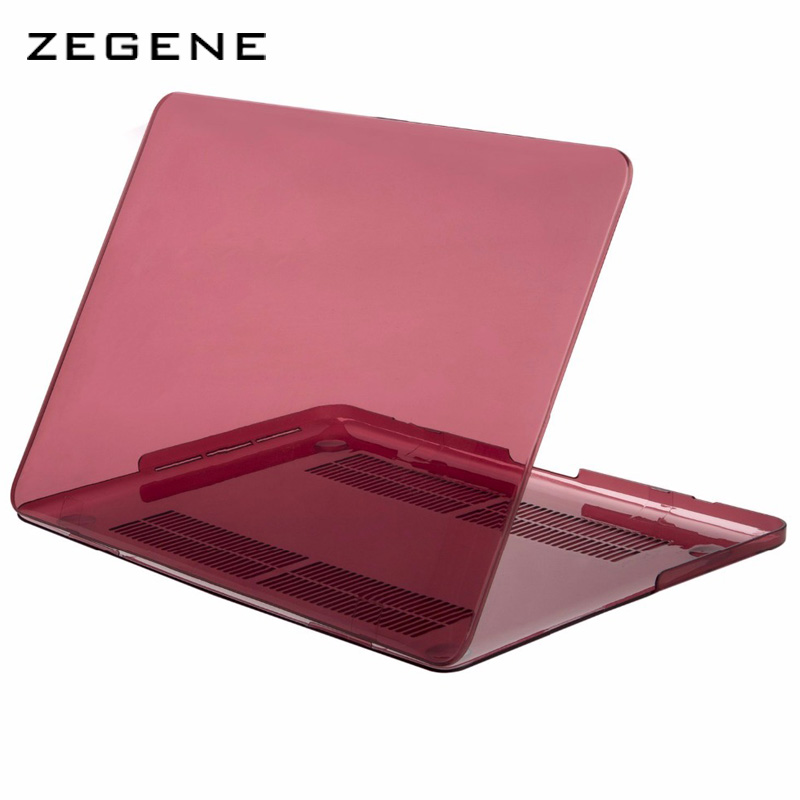 TPU Matte Case 11 12 13 15 inch Laptop Case For Macbook Air Pro Retina Laptop Bag Protective Cover For Mac