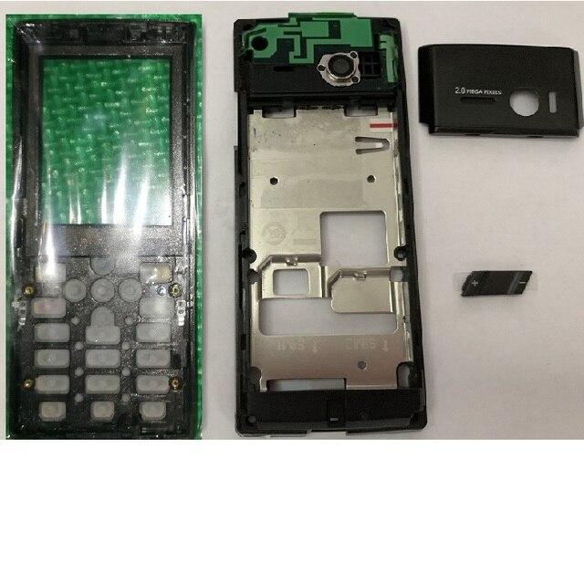 Szwesttop 필립스 x513 ctx513 모바일 용 배터리 커버가없는 모든 하우징 xenium phone cellphone 용
