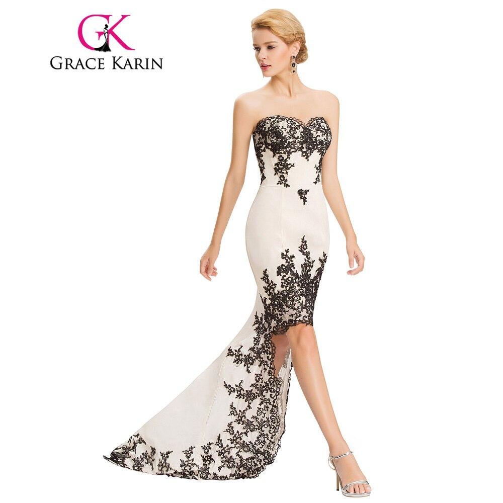 grace karin robe de soiree courte lace evening dress beige. Black Bedroom Furniture Sets. Home Design Ideas
