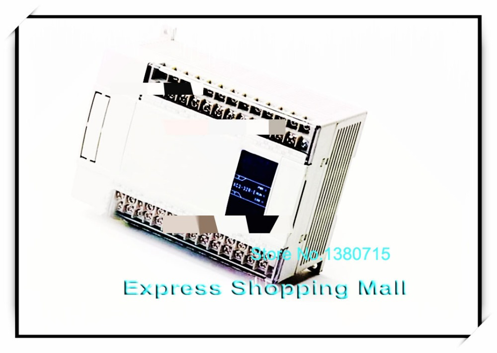 New Original XCM-24T3-E PLC AC220V 14 DI 10 DO Transistor 3 channels pulse output for motion control 2pcs new 10pcs om micro switch v 105 1a4 t v 105 1a4 t industry industrial plc d