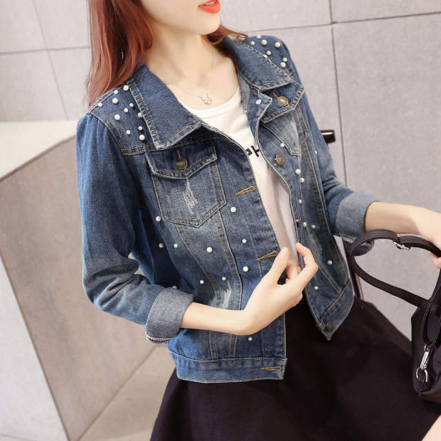 46c392cc771 placeholder Women Denim Jacket Riverdale southside serpents Jeans bomber  jacket Coat Casual female Outwear Solid Plus Size