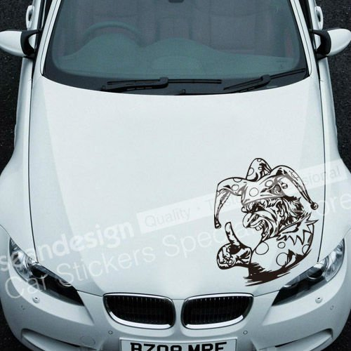 ¡Frio! Totem Clown C 030 Auto Car Decal Sticker - Accesorios exteriores para automóviles