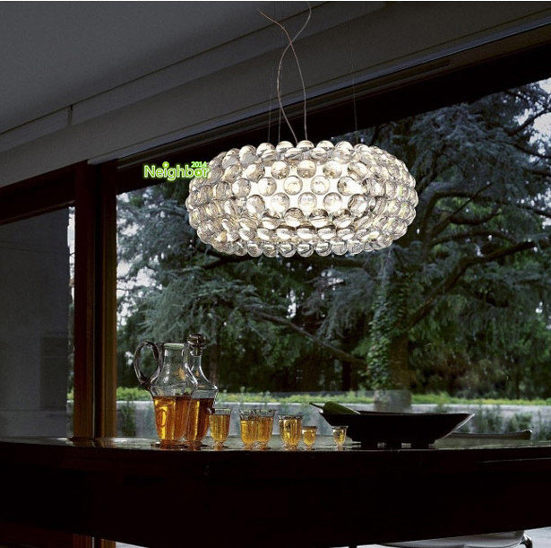 New Modern Clear Foscarini Caboche Ball Suspension Hanging