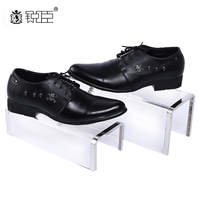 Acrylic Shoe Stand Premium clear Acrylic shoe display Counter top use XJ035 set of 2