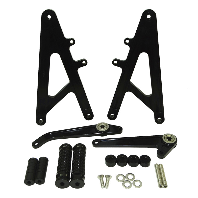 waase CNC Aluminum Racing Rearset Rear Sets Footrests Foot Rest Pegs For HONDA RS GP 125 RS125 GP125 125GPwaase CNC Aluminum Racing Rearset Rear Sets Footrests Foot Rest Pegs For HONDA RS GP 125 RS125 GP125 125GP