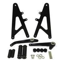 waase CNC Aluminum Racing Rearset Rear Sets Footrests Foot Rest Pegs For HONDA RS GP 125 RS125 GP125 125GP