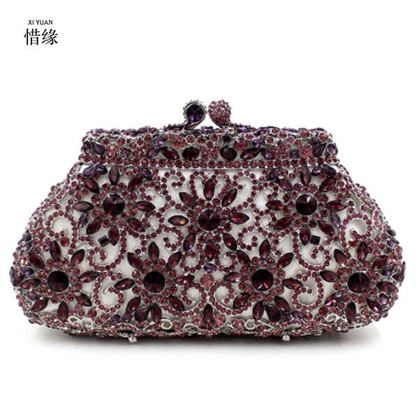 XIYUAN marque luxe sac de soirée pour les cadeaux d'anniversaire pour maman jour cluthes pour petite amie mère cadeau