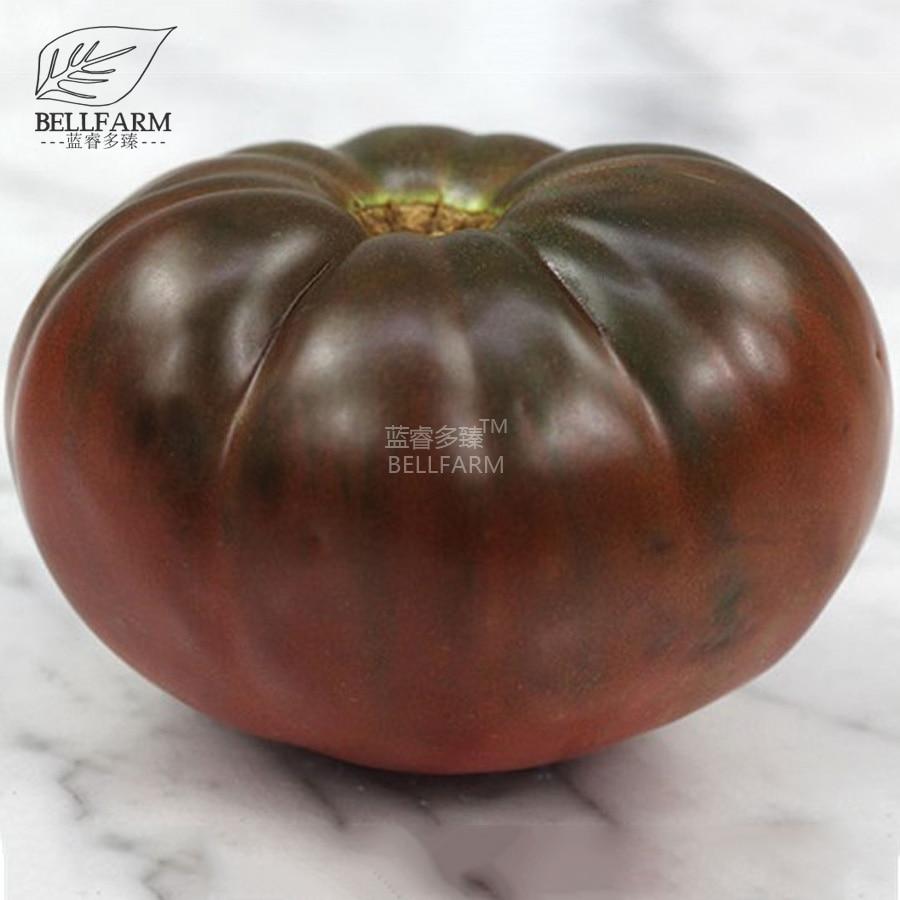 BELLFARM 100PCS Black Brandywine Giant Tomato \'Seeds\' Bonsai ...
