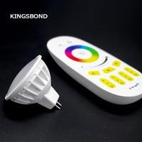 Milight AC DC12V 4W MR16 RGBW LED Dimmable 2 4G Wireless Led Bulb Led Spotlight Smart