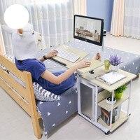 Хит продаж Модные Простые висит постели стол ленивый PC Рабочий стол Бытовая хранения стол дома, офисная мебель