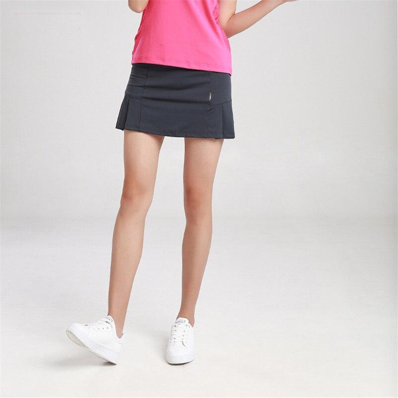 4199c18b7e2 Nouveau tennis jupes femmes skorts fille badminton course jupe dames tennis  sport jupes avec culotte 1 pc dans Jupes de tennis de Sports et Loisirs sur  ...