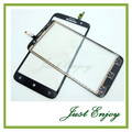 New Touchscreen For Lenovo A850 Touch Screen Digitizer Glass Lens Black Color Free Shipping + 3M Sticker