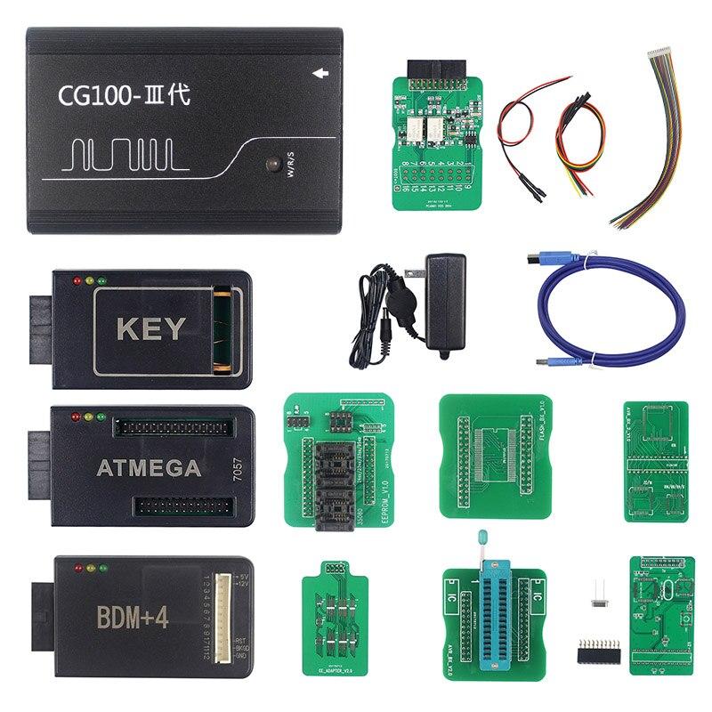 CG100 Versão Full Function CG100 PROG III Dispositivos Incluindo Todas As Funções De Renesas SRS Airbag Restaurar e XC236x FLASH