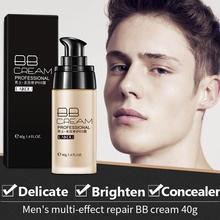 DSstyles Men BB Cream Face Cream Natural Whitening Beauty Skin Care Concealer Face Foundation Liquid Makeup Korean Cosmetics