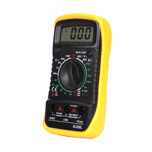 AC DC LCD Display Professional Electric Handheld Tester Meter Digital Multimeter Multimetro Ammeter Multitester