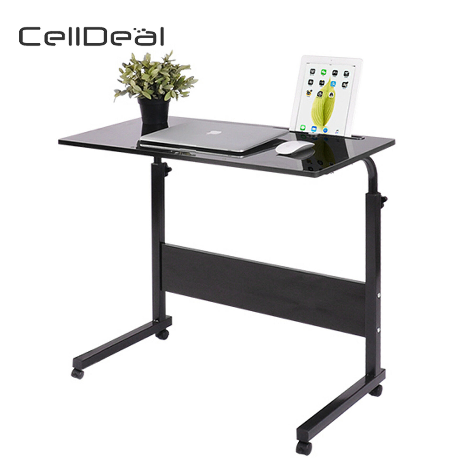 Modern Unique Z Shape Console Coffee Tray Laptop Eating Sid Table