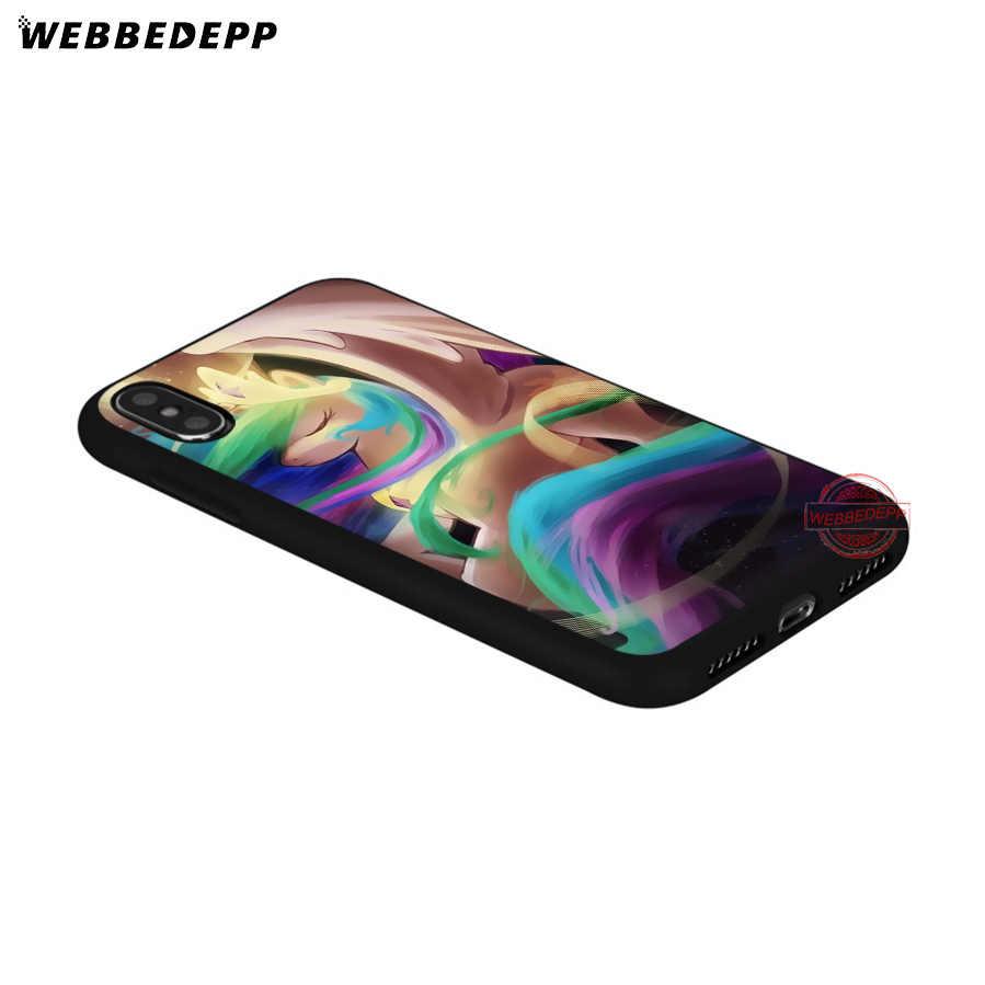 WEBBEDEPP My Little Pony friendly is Magic Мягкий Силиконовый ТПУ чехол для телефона iPhone 5 5S SE 6 6 S 7 8 Plus XR X XS Max