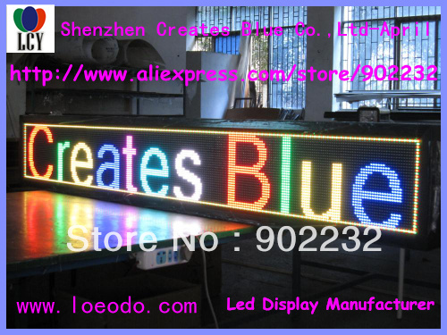 US $1380 0  Free ship,RGB led moving display,32*256dots,SMD,2meters,shop  advertising billboard,optoelectronic screen,digital board,pic on