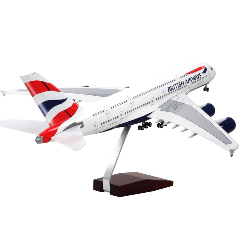 1:160 Airbus A380 Aircraft Flight Voice Control Flashing Simulation Model Lufthansa Qatar Australia British Airways Thai Airways все цены